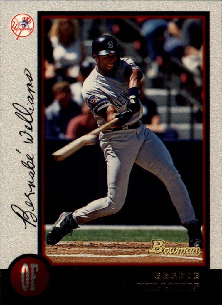 1998 Bowman #24 Bernie Williams