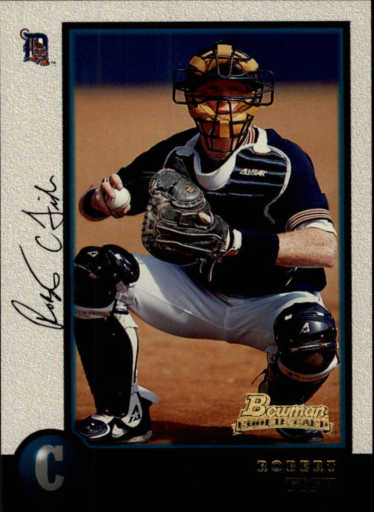 1998 Bowman #200 Robert Fick RC