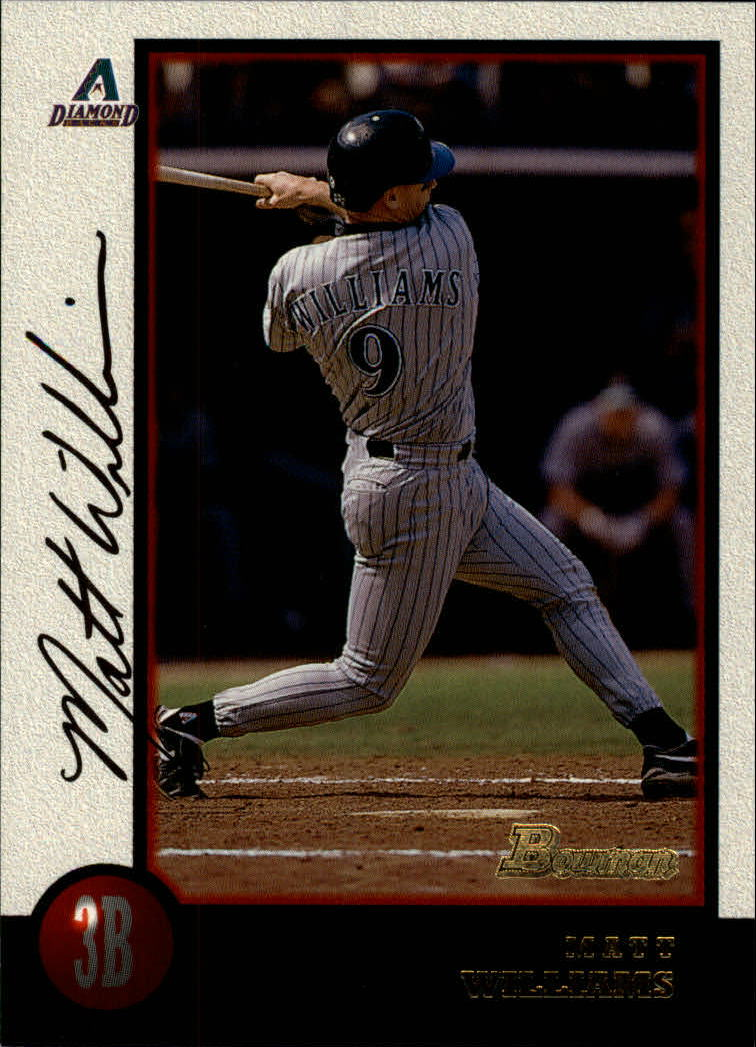 1998 Bowman #237 Matt Williams