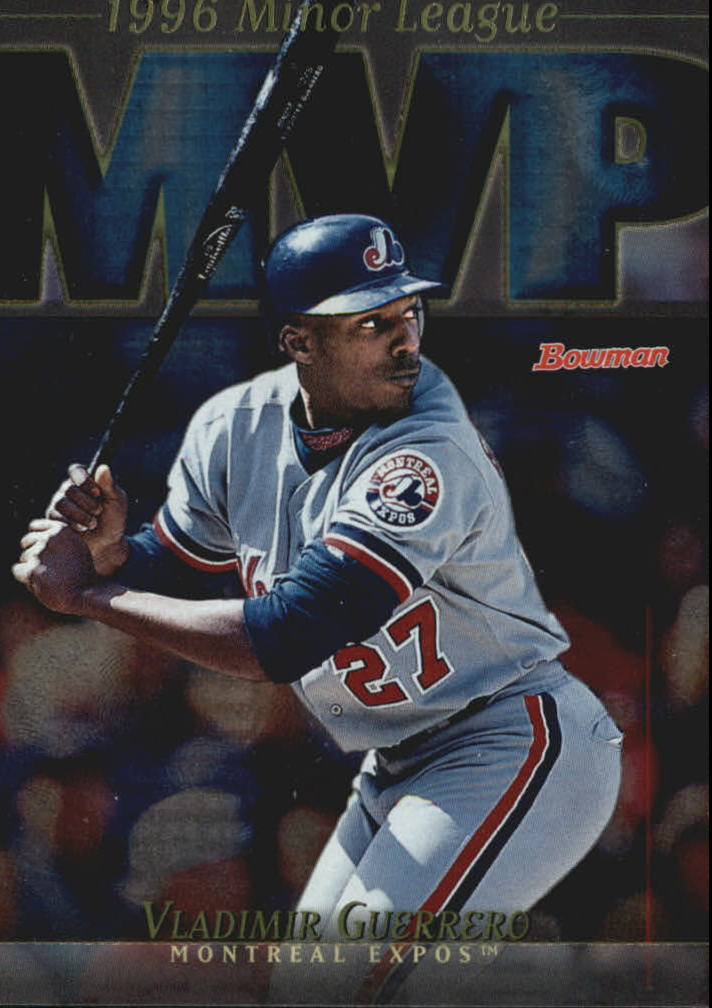 1998 Bowman Minor League MVP's #MVP5 Vladimir Guerrero