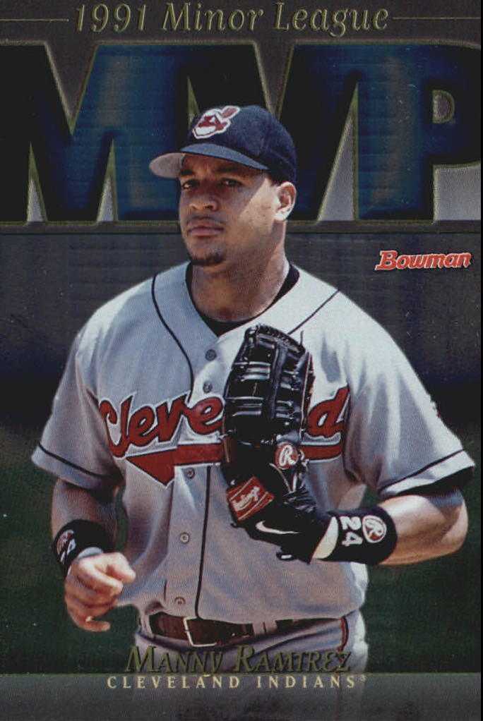 1998 Bowman Minor League MVP's #MVP9 Manny Ramirez