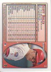 1998 Bowman Chrome #2 Scott Rolen back image