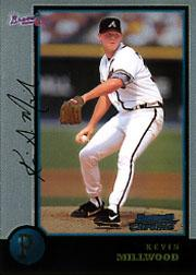 1998 Bowman Chrome #91 Kevin Millwood RC