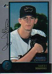 1998 Bowman Chrome #109 James Manias