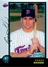 1998 Bowman Chrome #118 Corey Koskie RC