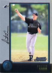 1998 Bowman Chrome #217 Dustin Carr RC