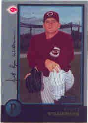 1998 Bowman Chrome #371 Scott Williamson RC
