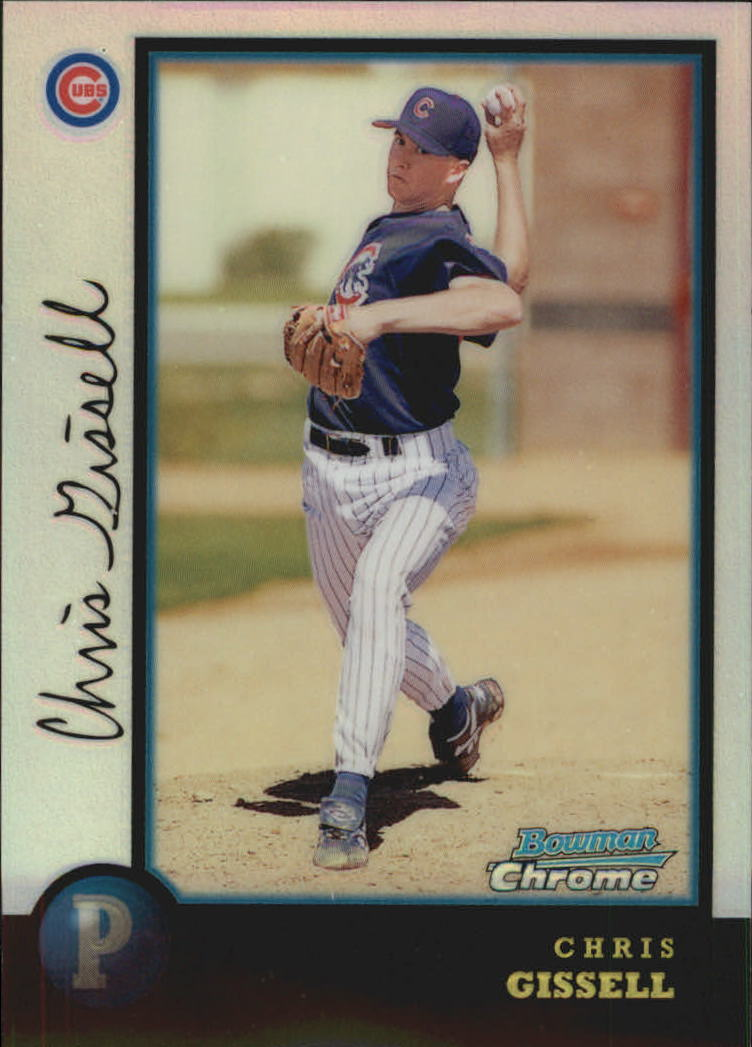1998 Bowman Chrome Refractors #305 Chris Gissell