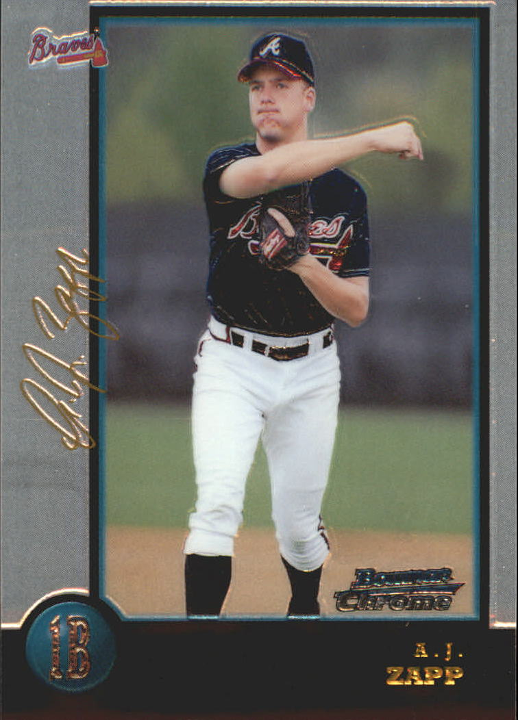 1998 Bowman Chrome Golden Anniversary #340 A.J. Zapp