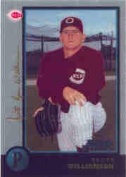 1998 Bowman Chrome Golden Anniversary #371 Scott Williamson