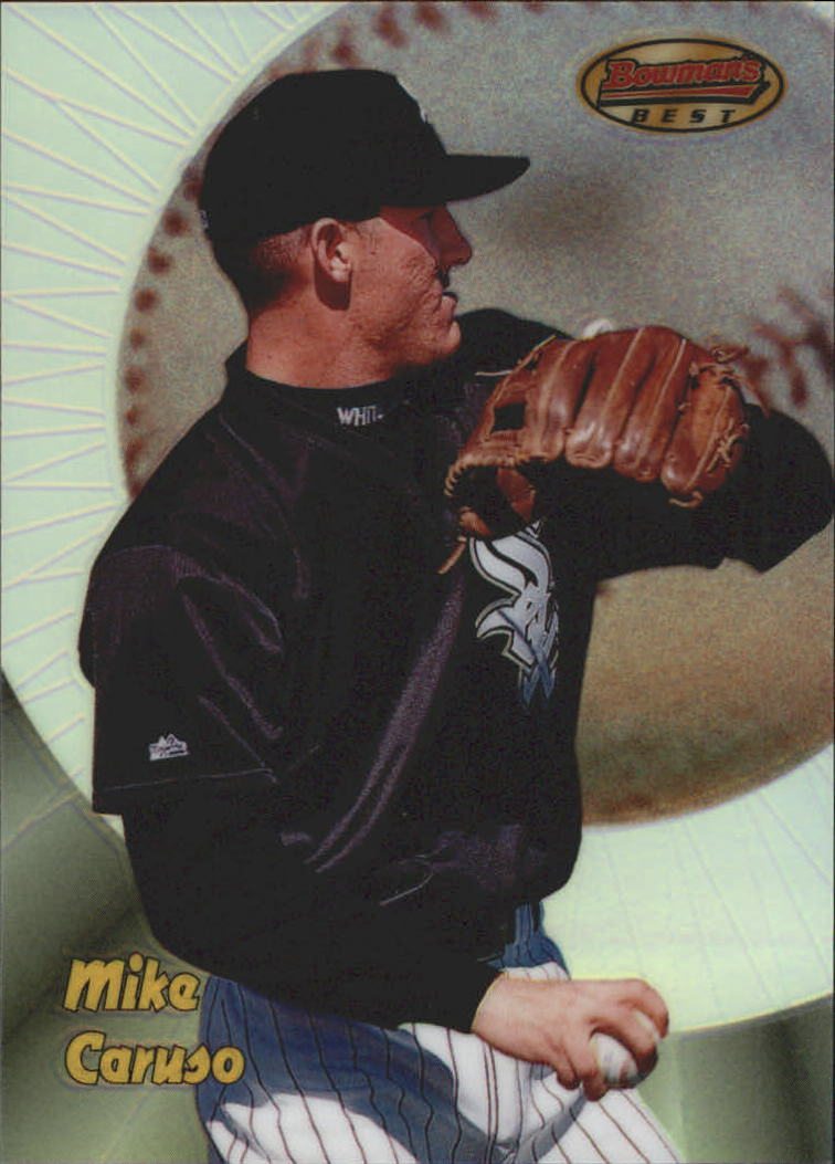1998 Bowman's Best Refractors #116 Mike Caruso