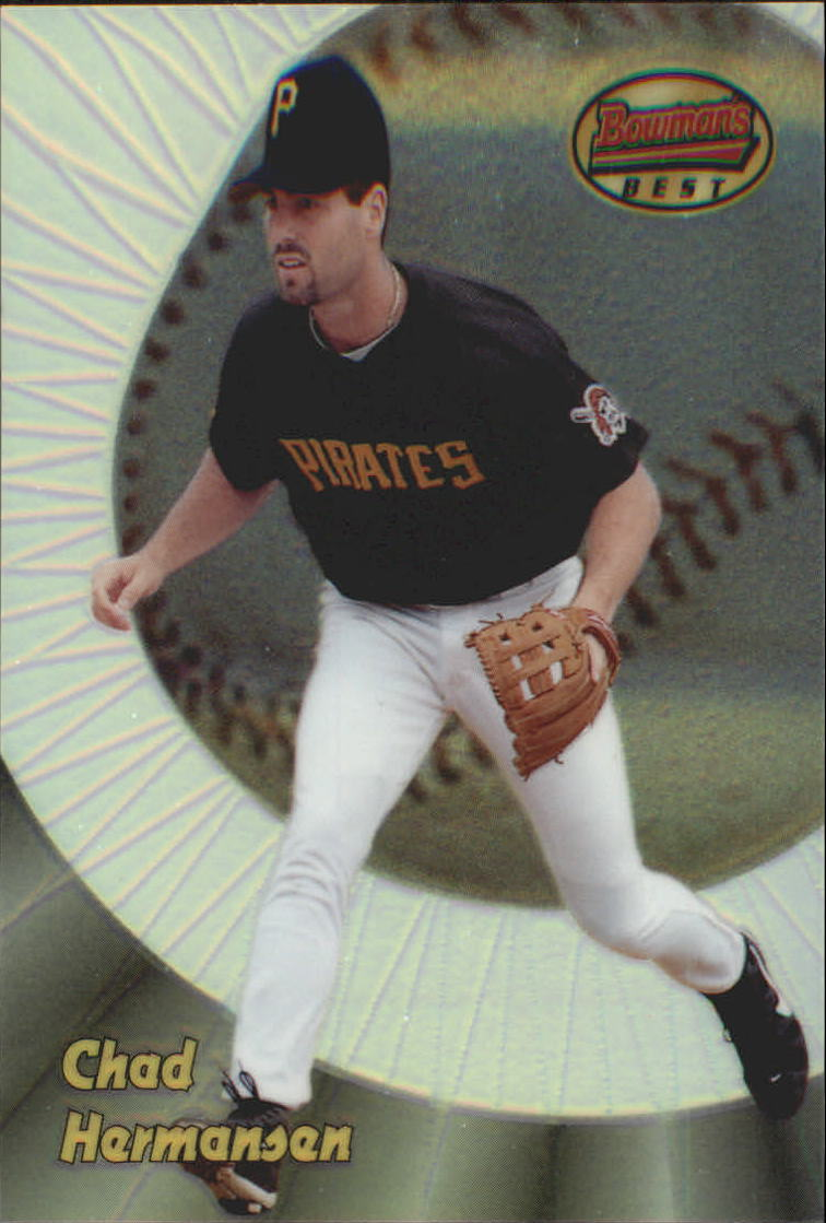 1998 Bowman's Best Refractors #162 Chad Hermansen