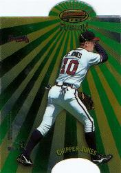 1998 Bowman's Best Mirror Image Fusion #MI15 C.Jones/A.Beltre