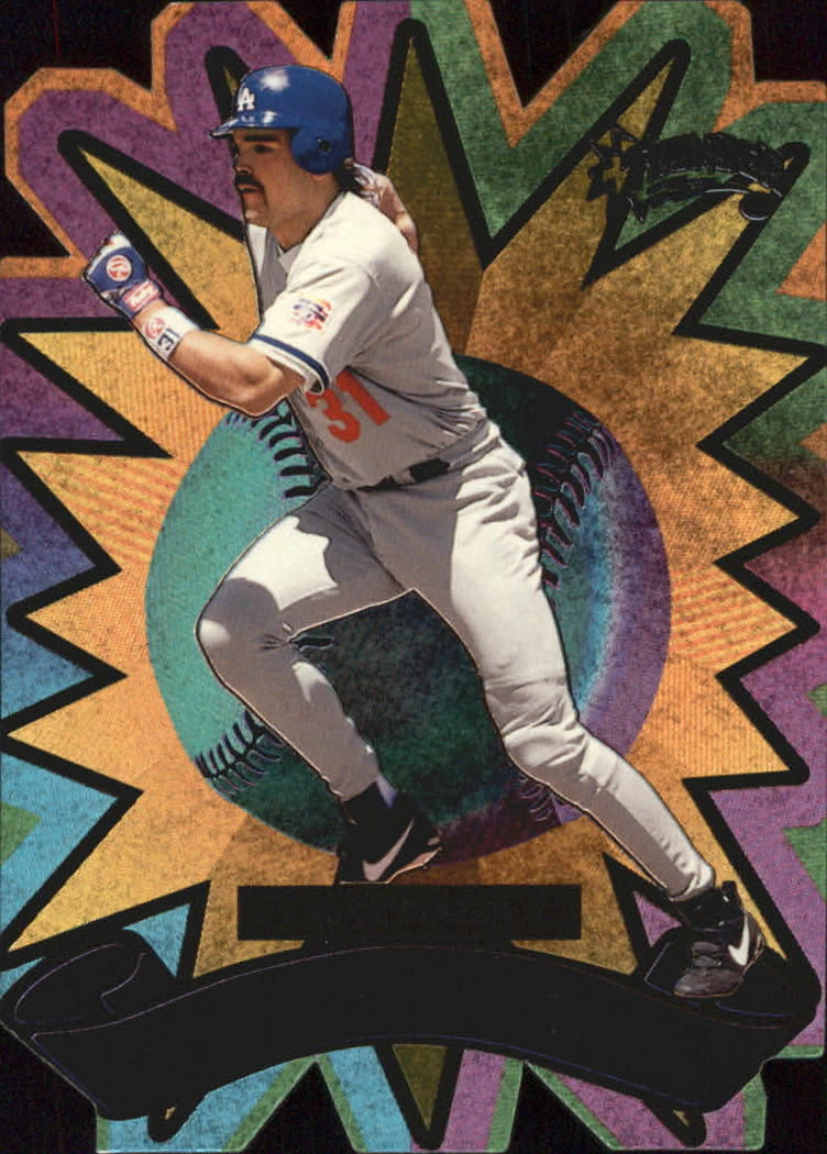 1998 Circa Thunder Quick Strike #9 Mike Piazza