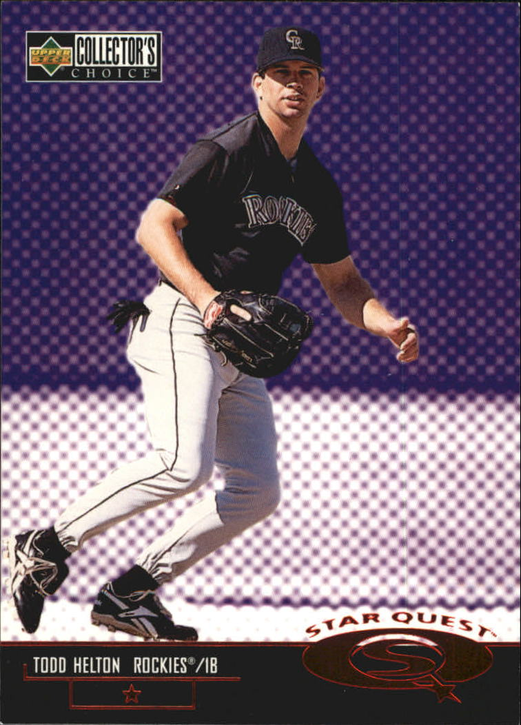 1998 Collector's Choice StarQuest #SQ13 Todd Helton SD