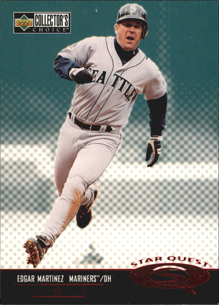 1998 Collector's Choice StarQuest #SQ26 Edgar Martinez SD