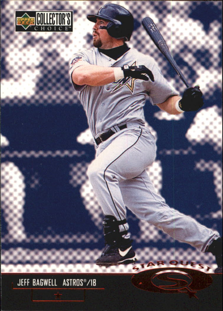 1998 Collector's Choice StarQuest #SQ37 Jeff Bagwell SD