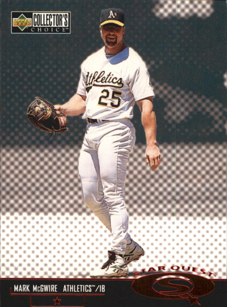 1998 Collector's Choice StarQuest #SQ40 Mark McGwire SD