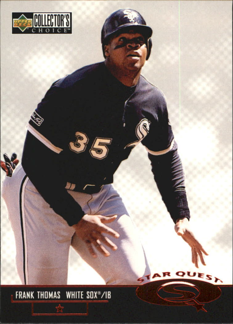 1998 Collector's Choice StarQuest #SQ41 Frank Thomas SD