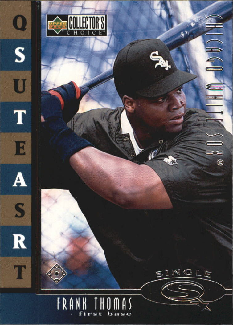1998 Collector's Choice StarQuest Single #5 Frank Thomas