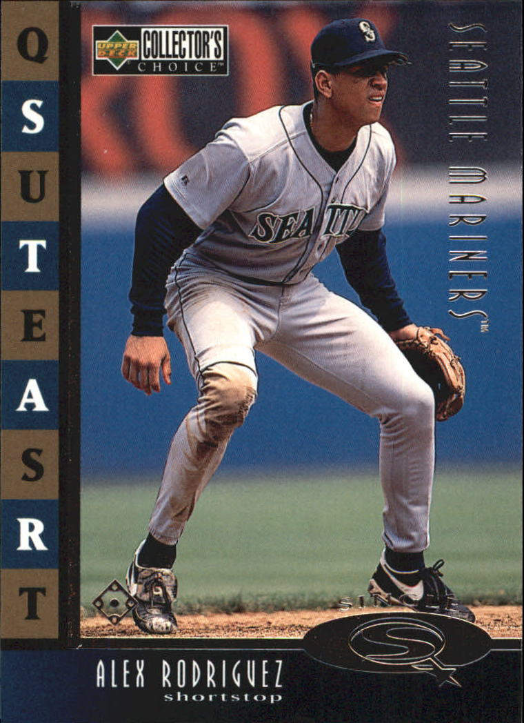 1998 Collector's Choice StarQuest Single #7 Alex Rodriguez