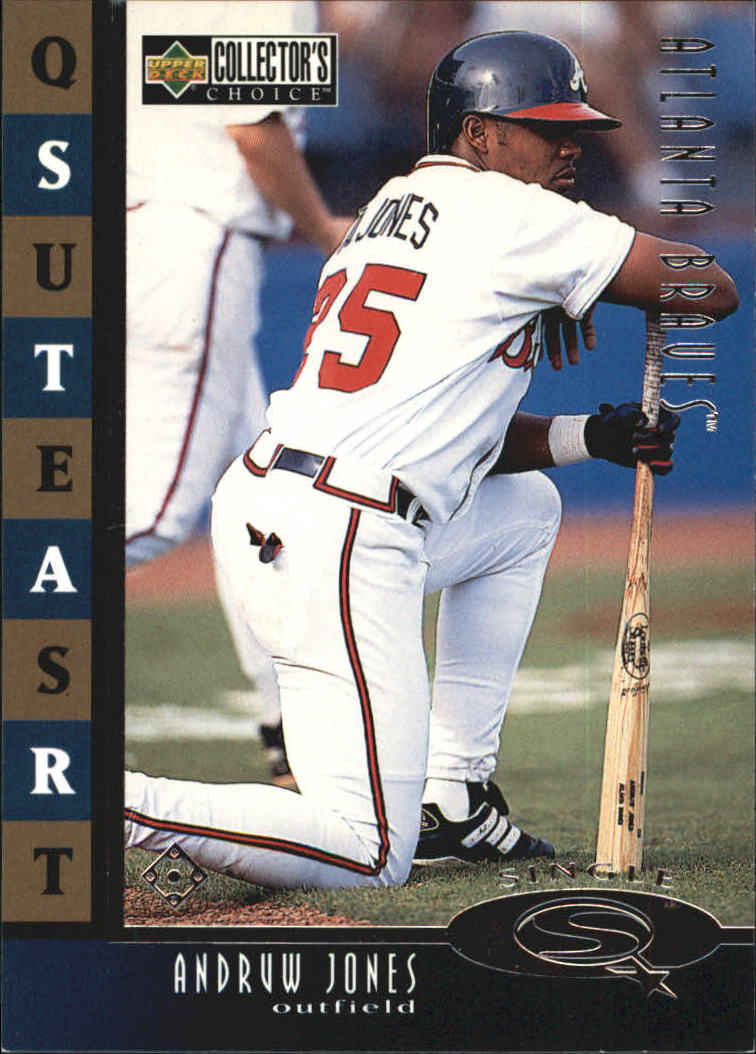 1998 Collector's Choice StarQuest Single #8 Andruw Jones
