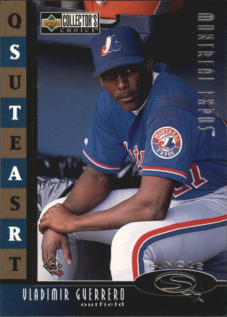 1998 Collector's Choice StarQuest Single #9 Vladimir Guerrero