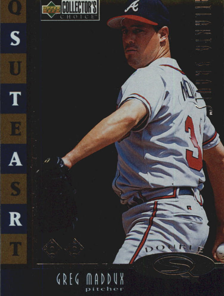 1998 Collector's Choice StarQuest Single #13 Greg Maddux