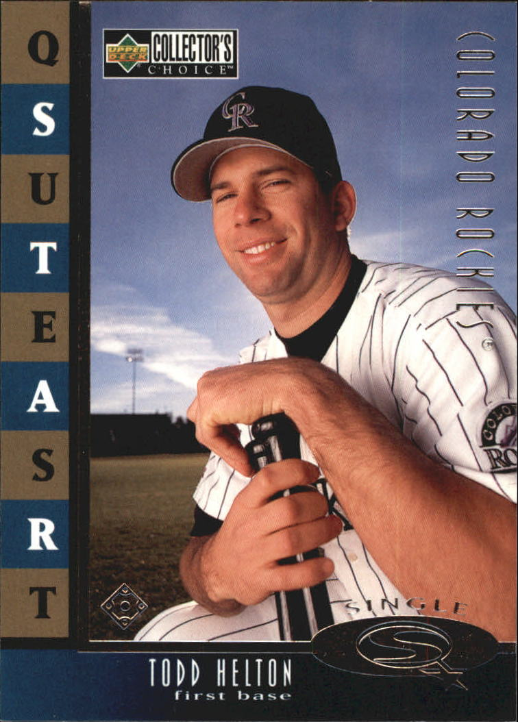 1998 Collector's Choice StarQuest Single #29 Todd Helton
