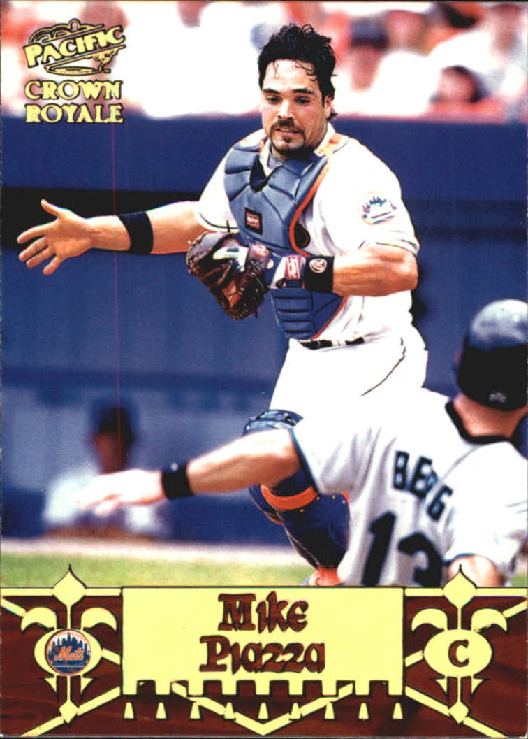 1998 Crown Royale Diamond Knights #13 Mike Piazza