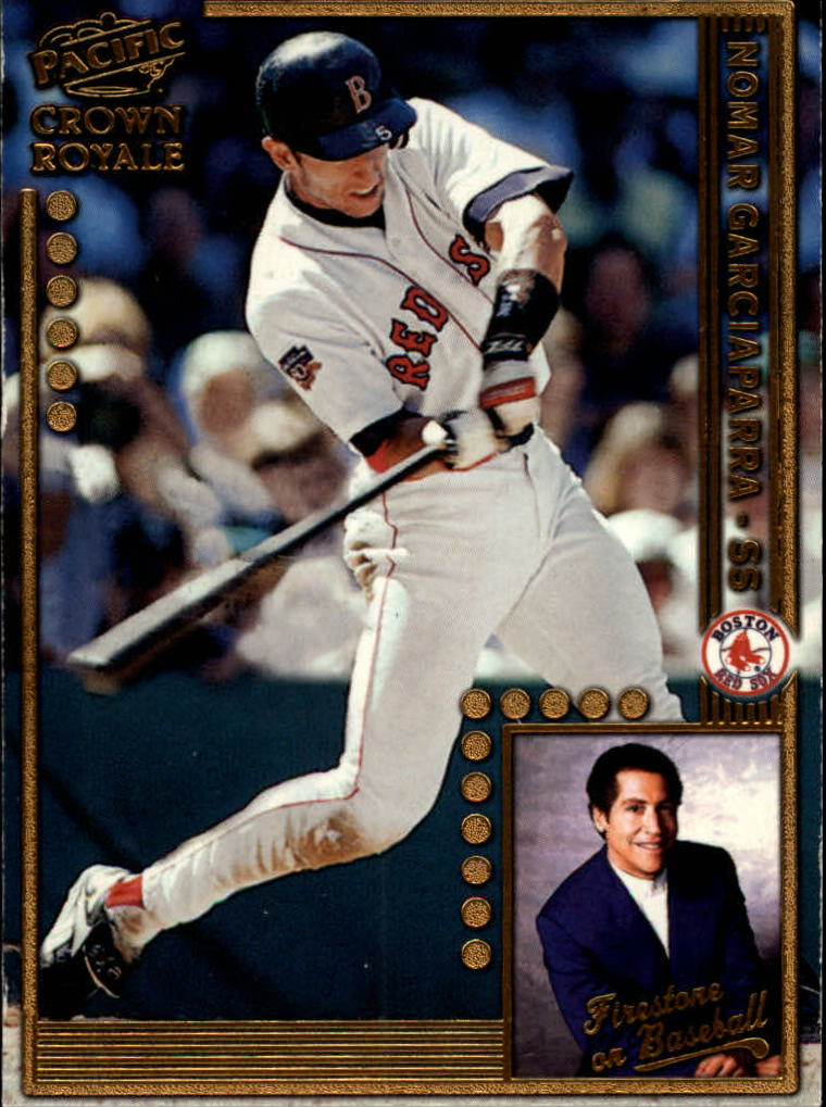 1998 Crown Royale Firestone on Baseball #5 Nomar Garciaparra