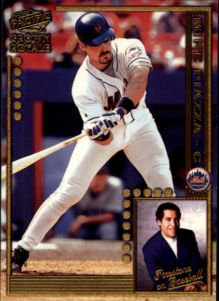 1998 Crown Royale Firestone on Baseball #14 Mike Piazza