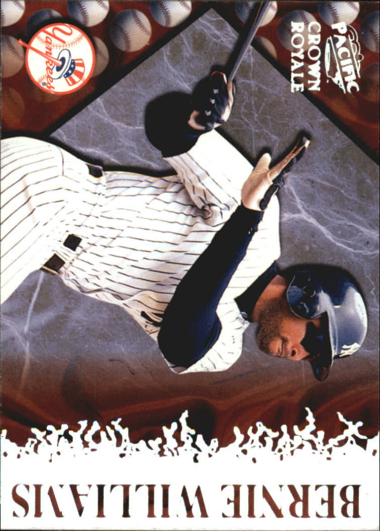 1998 Crown Royale Pillars of the Game #17 Bernie Williams