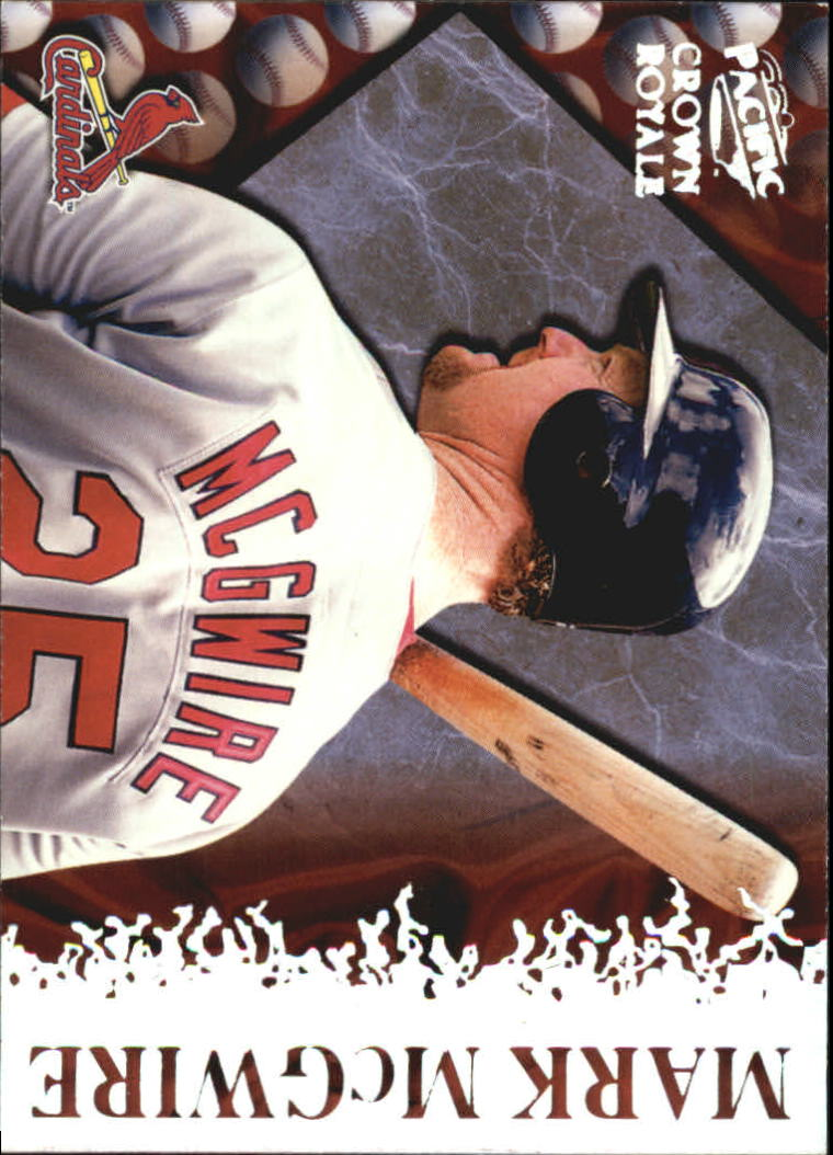 1998 Crown Royale Pillars of the Game #20 Mark McGwire