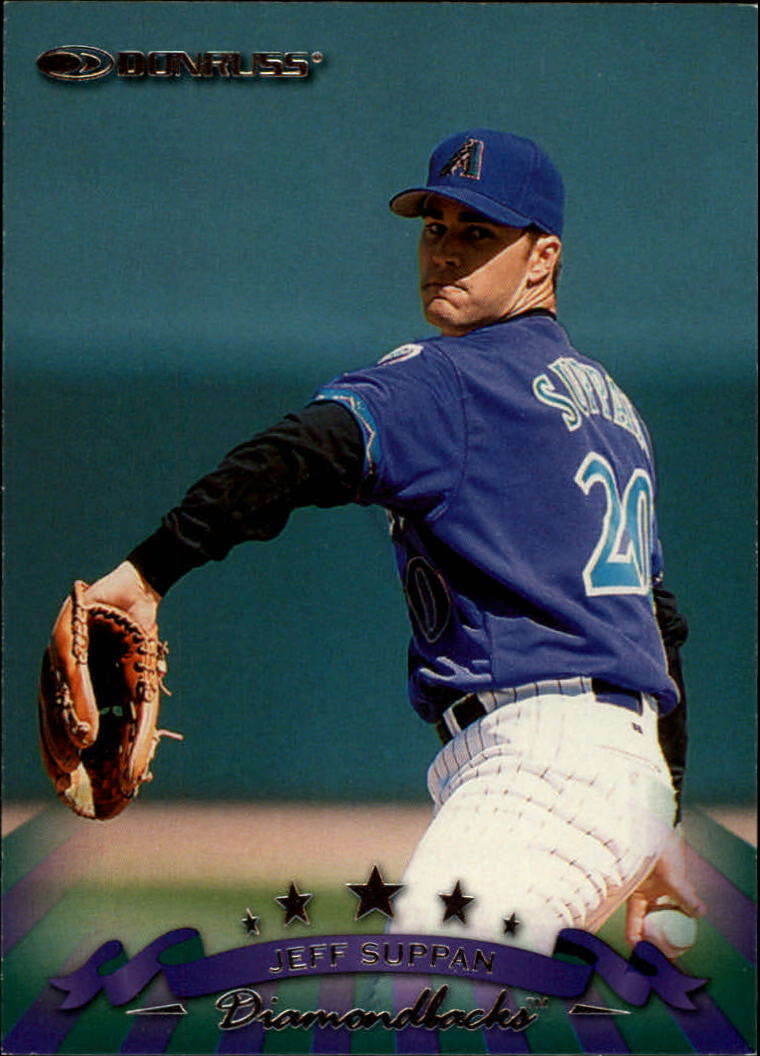 1998 Donruss #214 Jeff Suppan