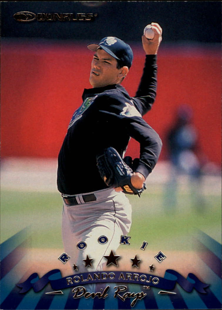 1998 Donruss #221 Rolando Arrojo RC