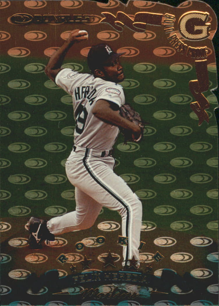 1998 Donruss Gold Press Proofs #311 Felix Heredia