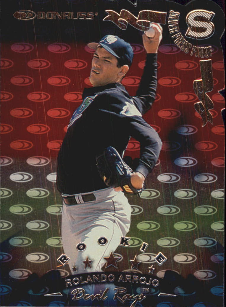 1998 Donruss Silver Press Proofs #221 Rolando Arrojo