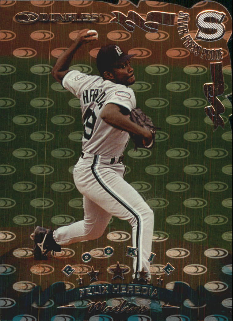 1998 Donruss Silver Press Proofs #311 Felix Heredia