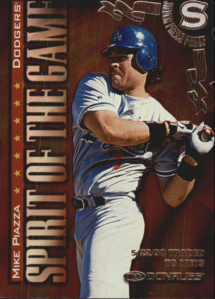 1998 Donruss Silver Press Proofs #409 Mike Piazza SG