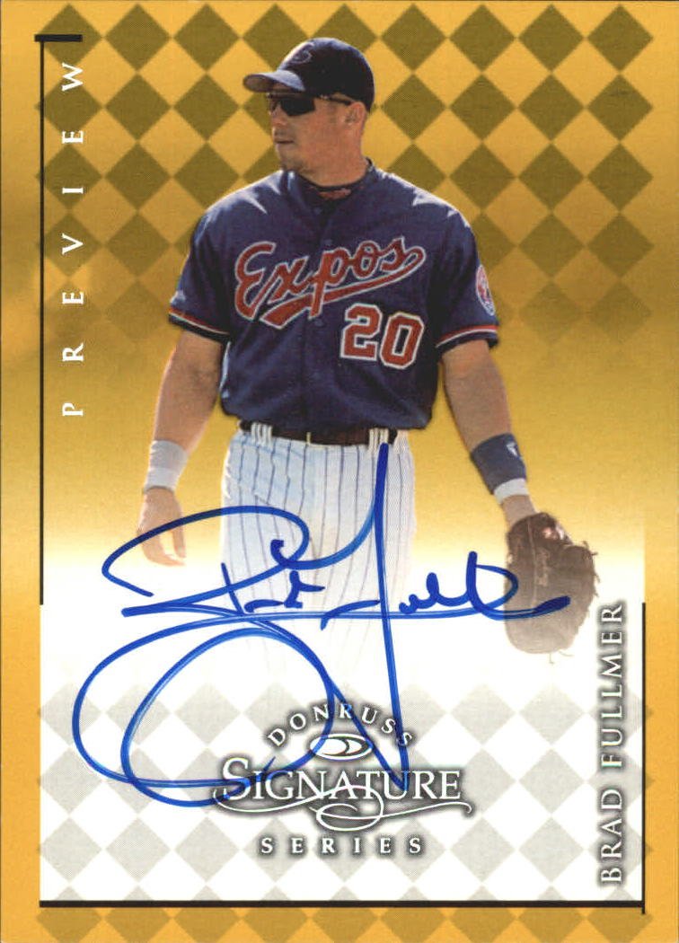 1998 Donruss Signature Series Previews #8 Brad Fullmer/396