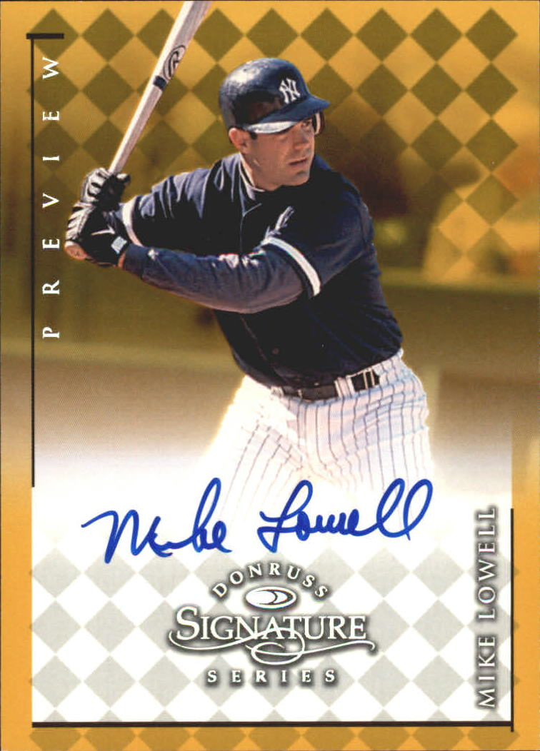 1998 Donruss Signature Series Previews #20 Mike Lowell/450