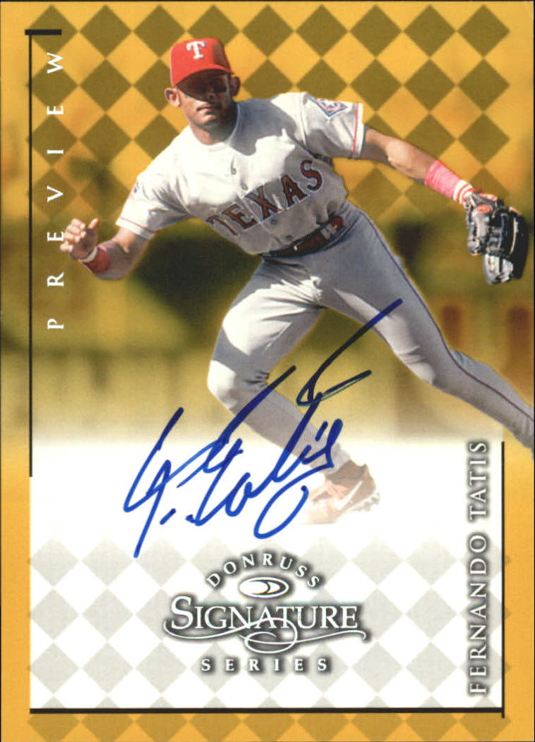1998 Donruss Signature Series Previews #30 Fernando Tatis/400