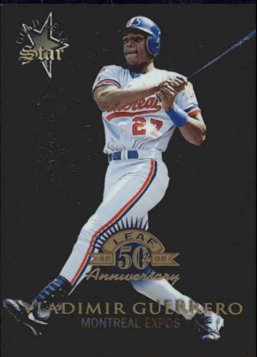 1998 Donruss Collections Leaf #369 Vladimir Guerrero GLS