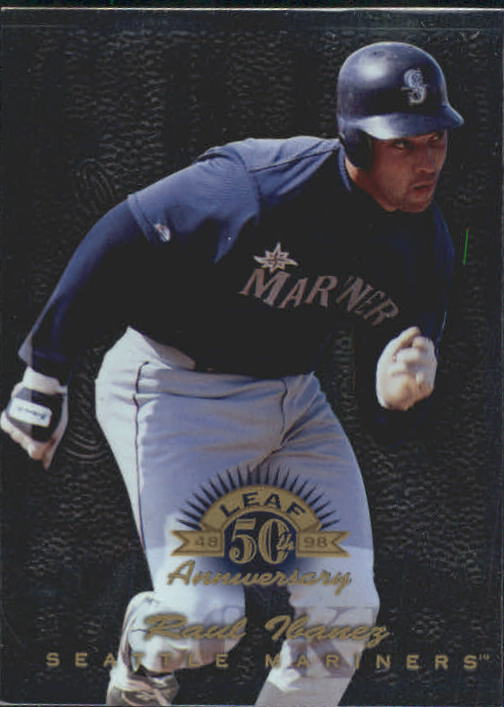 1998 Donruss Collections Leaf #396 Raul Ibanez GLR