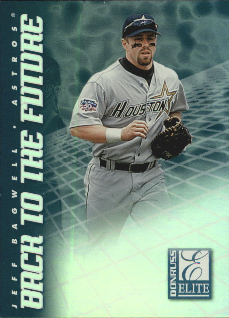 1998 Donruss Elite Back to the Future #2 J.Bagwell/T.Helton