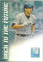 1998 Donruss Elite Back to the Future #8 A.Rodriguez/N.Garciaparra