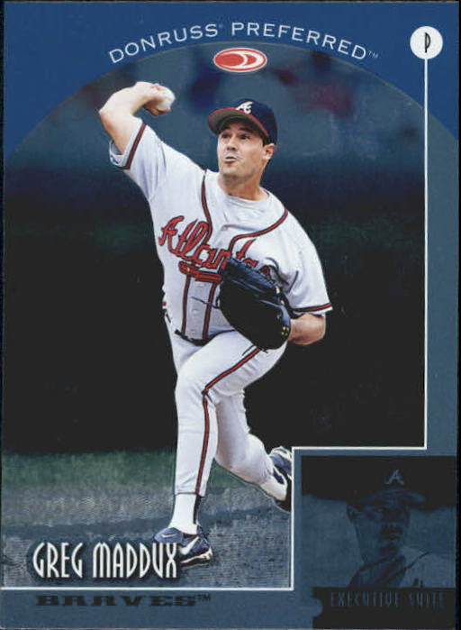 1998 Donruss Preferred #5 Greg Maddux EX