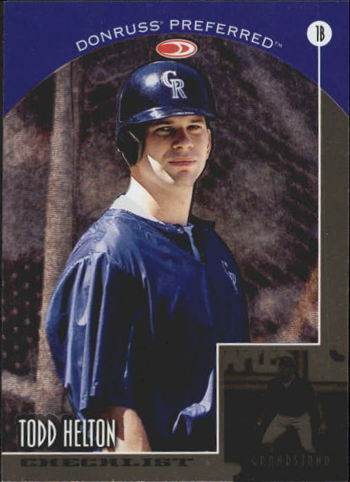 1998 Donruss Preferred #198 Todd Helton CL GS