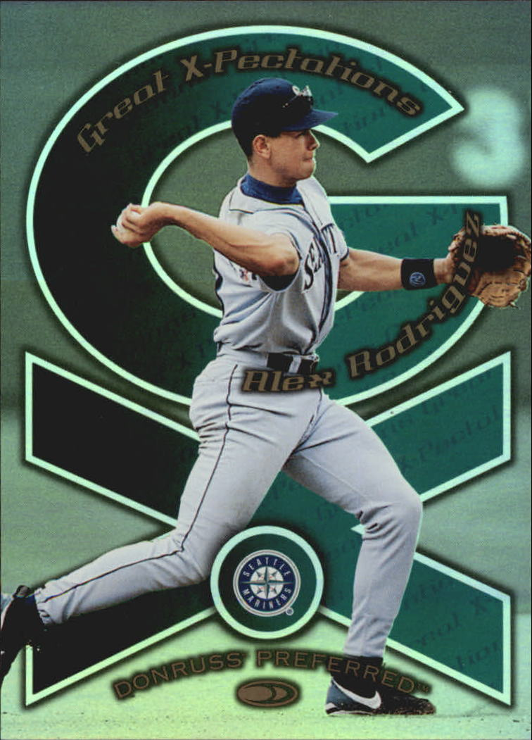 1998 Donruss Preferred Great X-Pectations #6 A.Rodriguez/M.Tejada